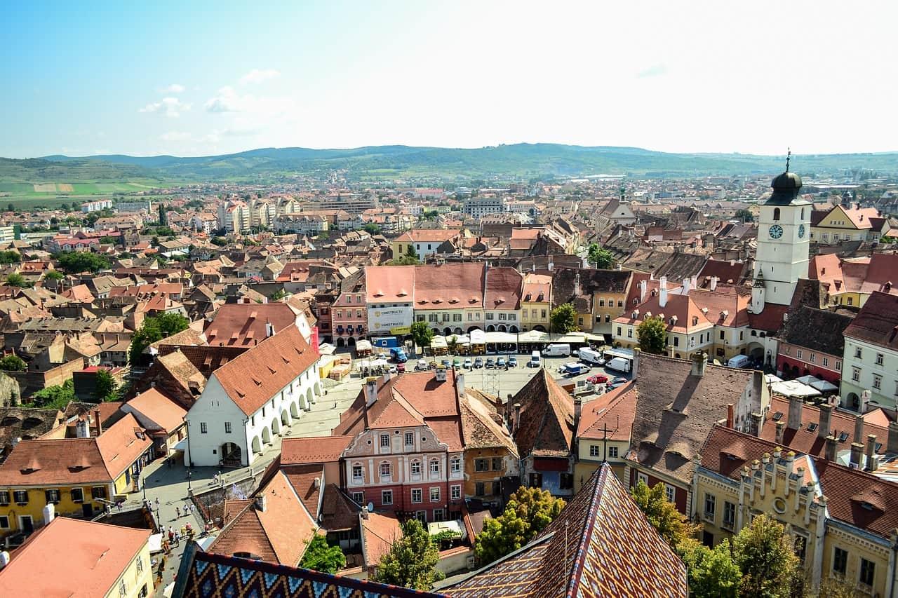 Румыния - красивый город для поездки